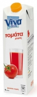 Viva Τομάτα Φυσικός Χυμός 1 lt
