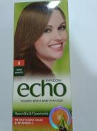 Echo Βαφή Μαλλιών No 8 με Εκχύλισμα Ελιάς και Βιταμίνη c 60 ml