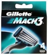 Gillette Mach  3 Ανταλλακτικά Ξυραφάκια 4 Τεμάχια