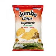 Jumbo Πατατάκια  Κυματιστά με Αλάτι 130 gr