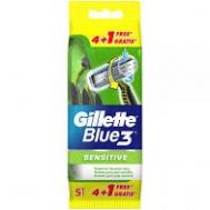 Gillette Blue III Sensitive  Ξυραφάκια 4 Τεμάχια