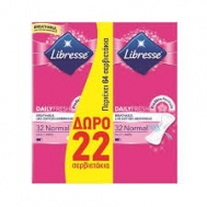 Libresse Normal Daily Fresh Σερβιετάκια  2X 32 Τεμάχια