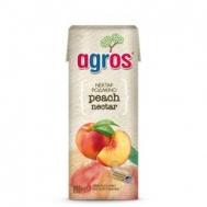 Agros Ροδάκινο Νέκταρ 0.25 L
