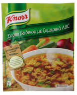 Knorr Σούπα Βοδινού ABC 80 gr