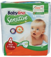 Babylino Sensitive No4 Maxi 20 Τεμάχια