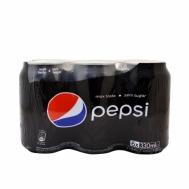 Pepsi Max Χωρίς Ζάχαρη 6 X 330 ml