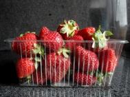 Φράουλες Ελληνικές  Συσκευασία Περίπου 500 gr