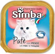 Simba Γατοτροφή Πατέ Ψάρι 100 gr