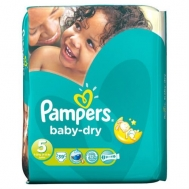 Pampers Baby Dry Junior No5  39 Τεμάχια