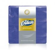 Endless Premium Χαρτοπετσέτες Μπλε 50 τμ