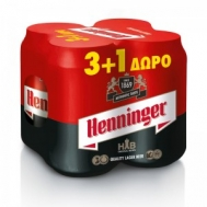 Henninger Μπύρα 330 ml x 4 (3+1 Δωρο)