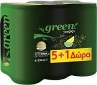 Green   Γκαζόζα 330 ml 5+1 Δώρο