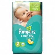 Pampers Baby Dry  No  2  58 Τεμαχια