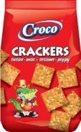 Croco Crackers Susam Poppy Αλμυρά Μπισκότα 100 gr