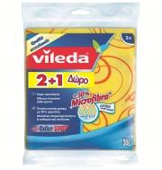 Vileda 3D   Πετσέτες Γενικής Χρήσης με Μικρο ίνες 2+1 Δώρο
