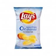 Lays  Πατατάκια  0% Αλάτι 130  gr