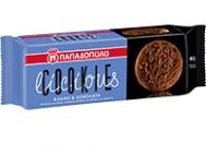 Παπαδοπούλου  Cookielicious Μπισκότα με κομματάκια Σοκολάτας &Κακάο 160  gr
