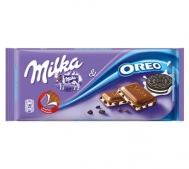 Milka Σοκολάτα Oreo & Biscuit Pieces 100gr