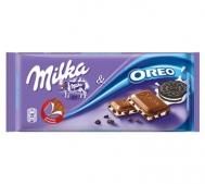 Milka Σοκολάτα Oreo & Biscuit Pieces 100gr