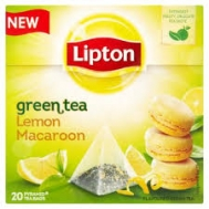 Lipton Green Tea Lemon Macaroon  Πυραμίδα 20 X0.016 gr