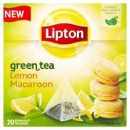 Lipton Green Tea Lemon Macaroon  Πυραμίδα 20 X0.016 gr