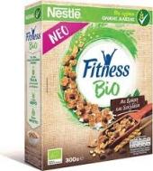 Nestle Fitness Δημητριακά Βιο με Βρώμη & Μαύρη Σοκολάτα 300 gr
