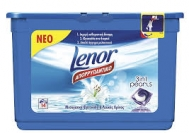 Lenor Κάψουλες Πλυντηρίου Μεσογειακή Φρεσκάδα και Λευκός Κρίνος 14 Τεμάχια