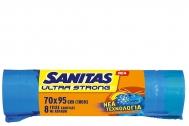 Sanitas Ultra Strong Σακούλες Απορριμμάτων 70x95 8 Τεμάχια