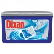 Dixan Power Mix Caps Ενισχυμένη Σκόνη, Συμπυκνωμένο Power Gel 14x23.5  gr (329gr)