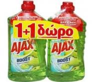 Ajax Υγρό Δαπέδου  Ξύδι & Μήλο  1 lt   1+1 Δώρο