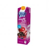 Viva Multi Fruits Φυσικός Χυμός 1 lt
