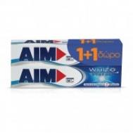 Aim White System 75 ml 1+ 1  Δώρο