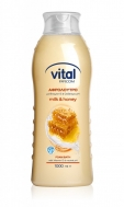 Vital Αφρόλουτρο  Milk and Honey 1 lt