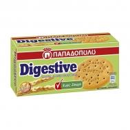 Παπαδοπούλου Μπισκότα Digestive Ολικής Άλεσης Χωρίς Ζάχαρη 250 gr