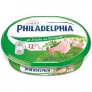 Philadelphia Τυρί Κρέμα Light Με Σκόρδο & Χορταρικά 200 gr
