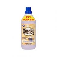 Overlay Καθαριστικό Πατώματος Λεβάντα για Μάρμαρα και Πλακάκια 1 lt 25% Προϊόν Δώρο