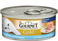 Gourmet Γατοτροφή Ψάρι Ωκεανού 85 gr