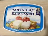 Χωριάτικο Καραγιάννης Κατσικίσιο Τυρί Τσαντίλας Περίπου 550 gr