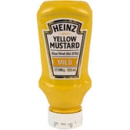 Heinz Μουστάρδα  Yellow  Top Down 240 ml