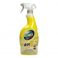 Klinex Spray 4 σε 1 Λεμόνι 750 ml