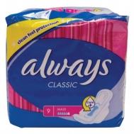Always Classic Maxi Σερβιέτες 9 Τεμάχια