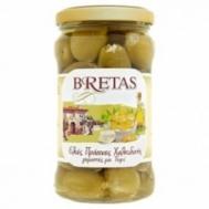 Bretas Ελιές Πράσινες με Γέμιση Τυρί 314 gr