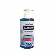 Papoutsanis  Natura Αντιβακτηριδιακό  Κρεμοσάπουνο χωρίς Αντλία Υγιεινή Προστασία 400  ml