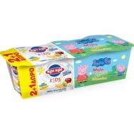 Κρι Κρι Επιδ/πιο Γιαουρτιού Peppa Pig 3 Φρούτα 3x140γρ 2+1 Δώρο