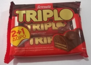 Serenata Triplo Σοκολάτα Γάλακτος 50 gr 2+1 Δώρο