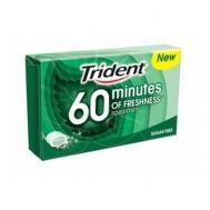 Trident 60 Minutes Δυόσμος Χωρίς Ζάχαρη 20 gr