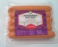Παντέρης Λουκάνικα Hot-Dog 450 gr