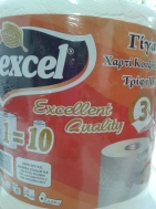 Excel Ρολό Κουζίνας 3 φυλλο 700 gr
