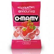 Ιον O-Mamy Καραμέλες Φράουλα 100 gr