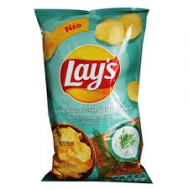 Lays  Πατατάκια  Sour Cream 130  gr